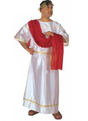 Roman Caesar Plus size fancy dress Costume (3179)